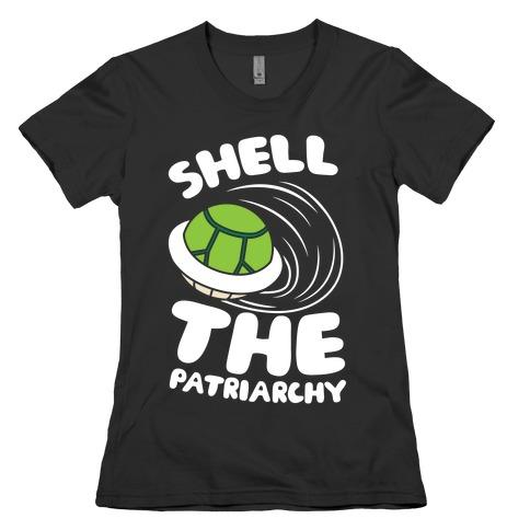 Green Shell The Patriarchy Womens T-Shirt