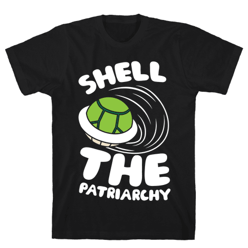 Green Shell The Patriarchy Mens T-Shirt