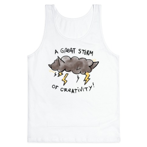 A Great Storm Of Creativity Tank Top