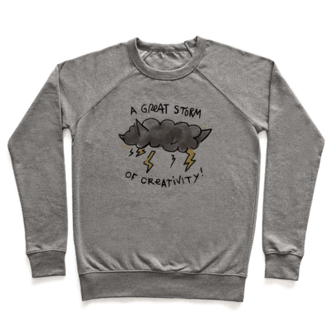 A Great Storm Of Creativity Pullover