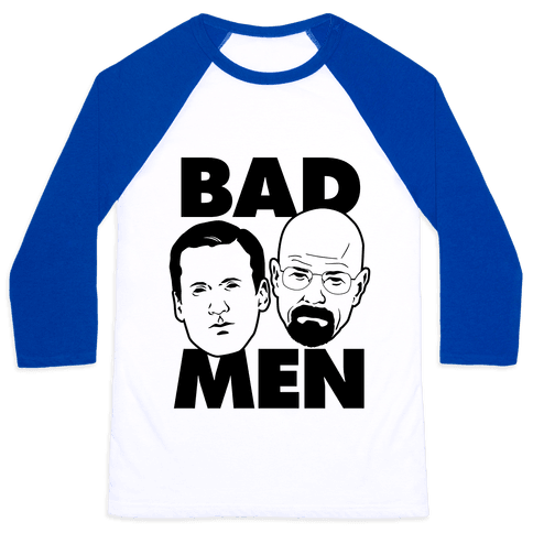 Bad Men Baseball Tee