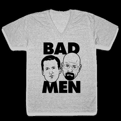 Bad Men V-Neck Tee Shirt