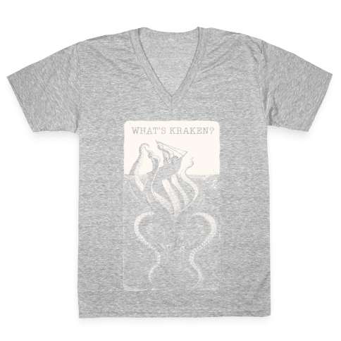 What's Kraken? V-Neck Tee Shirt