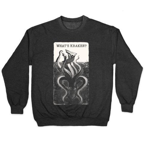 What's Kraken? Pullover