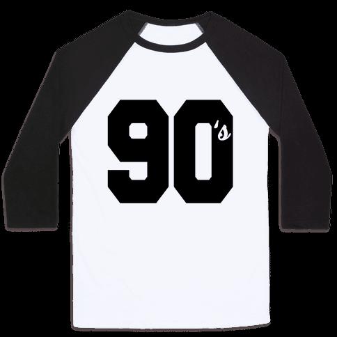 90's Varsity Baseball Tee