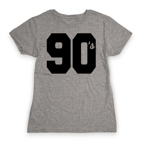90's Varsity Womens T-Shirt