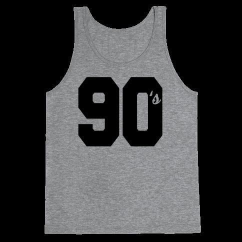 90's Varsity Tank Top