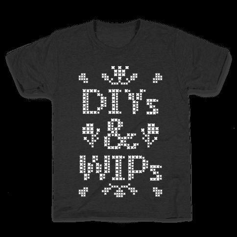 DIYs & WIPs Kids T-Shirt