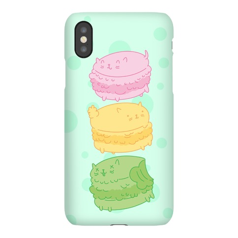 Cat Macarons Phone Case
