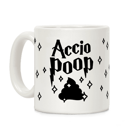 Accio Poop Coffee Mug