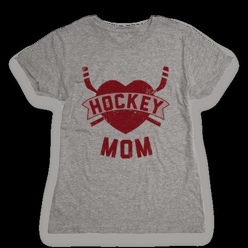 Hockey Mom Womens T-Shirt