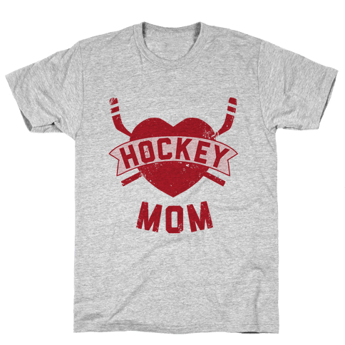 Hockey Mom Mens T-Shirt