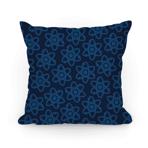 Science Pattern Pillow