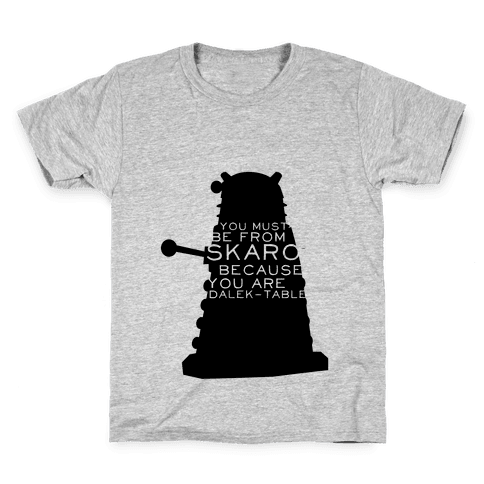 Doctor Who Pick Up (Dalek) Kids T-Shirt