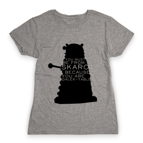 Doctor Who Pick Up (Dalek) Womens T-Shirt