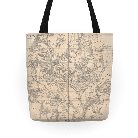 Constellation Map Tote