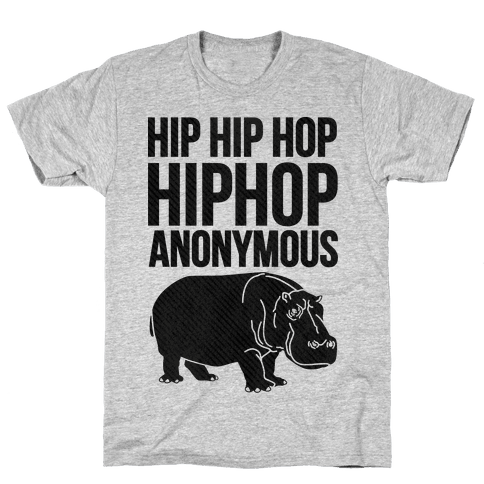Hippopotamus  Mens T-Shirt
