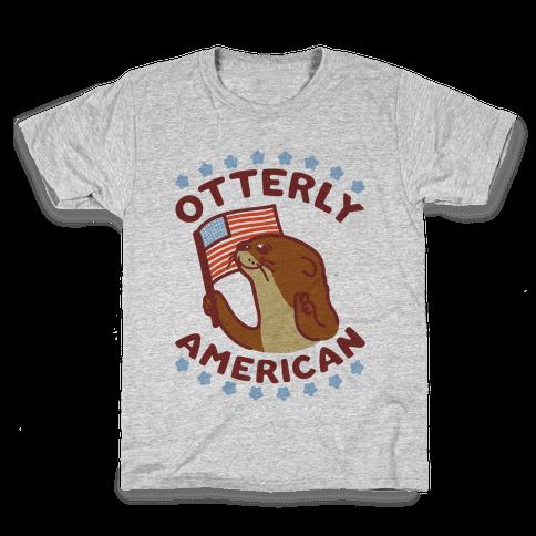 Otterly American Kids T-Shirt