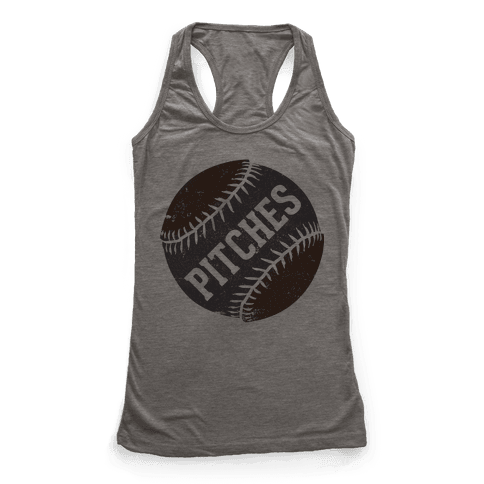 Best Pitches (Pitches) Racerback Tank Top
