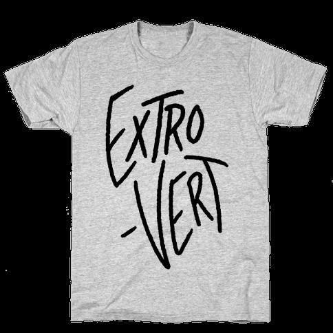 Extrovert Mens T-Shirt