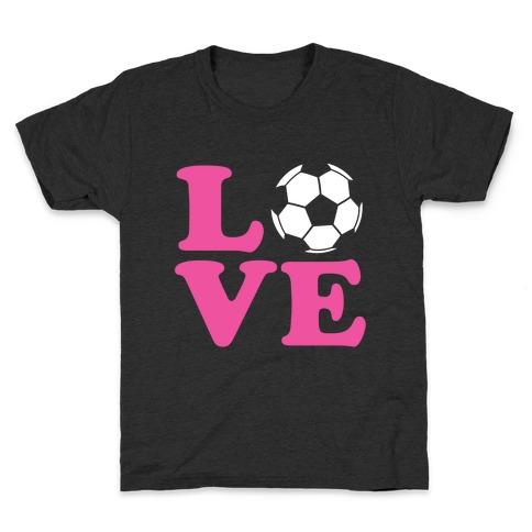 Love Soccer Kids T-Shirt