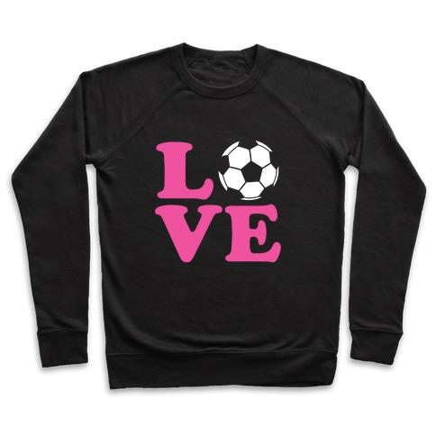 Love Soccer Pullover