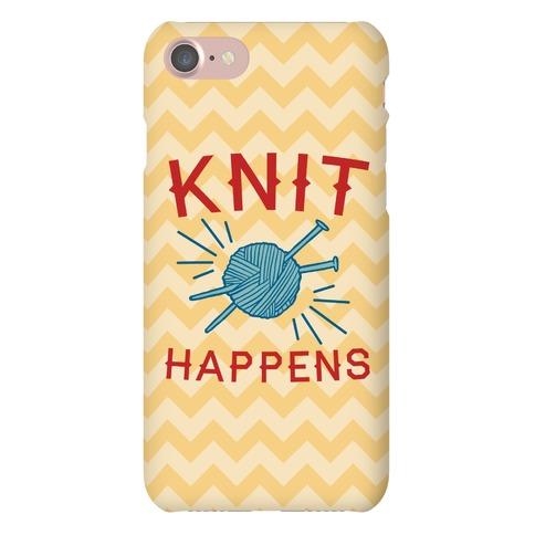 Knit Happens Phone Case