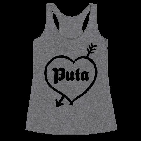 Puta Love Racerback Tank Top