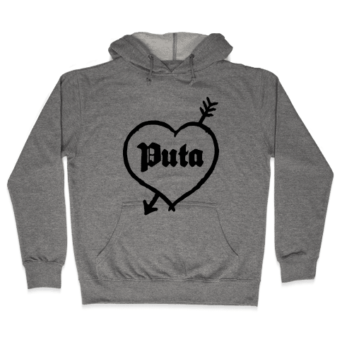 Puta Love Hooded Sweatshirt
