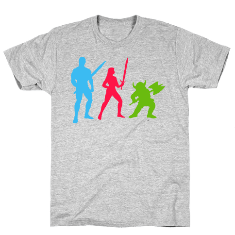 Golden Axe Minimal Mens T-Shirt