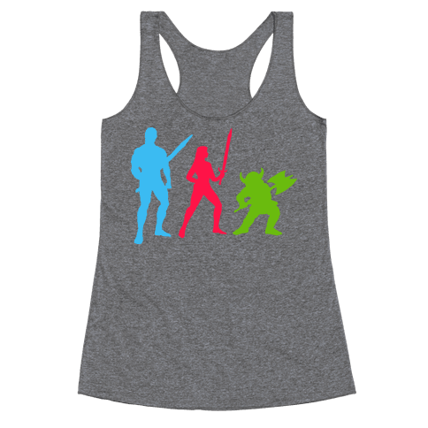 Golden Axe Minimal Racerback Tank Top