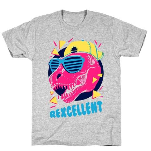 T-Rexcellent 90's Dinosaur Tyrannosaurus Mens T-Shirt