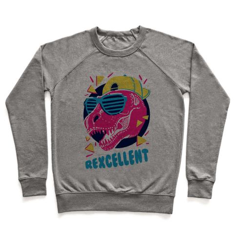T- Rexcellent 90's Dinosaur Pullover