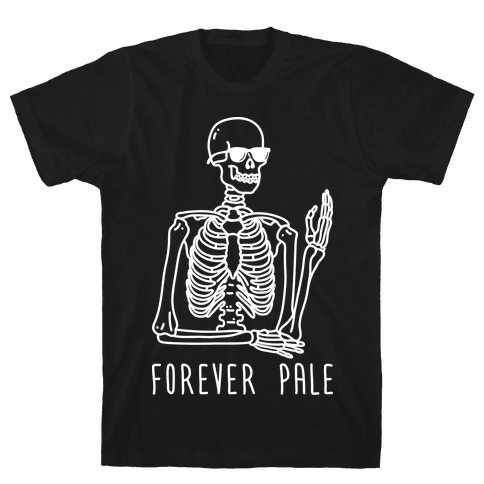 Forever Pale Mens T-Shirt