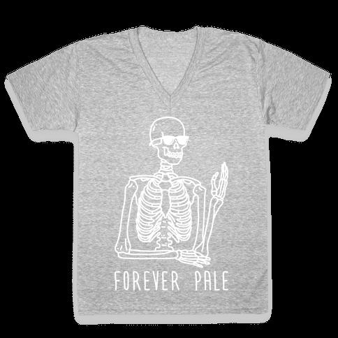 Forever Pale V-Neck Tee Shirt