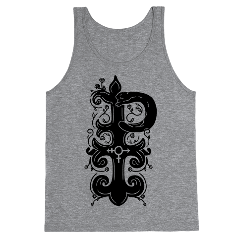 Pansexual Pride Monogram Tank Top