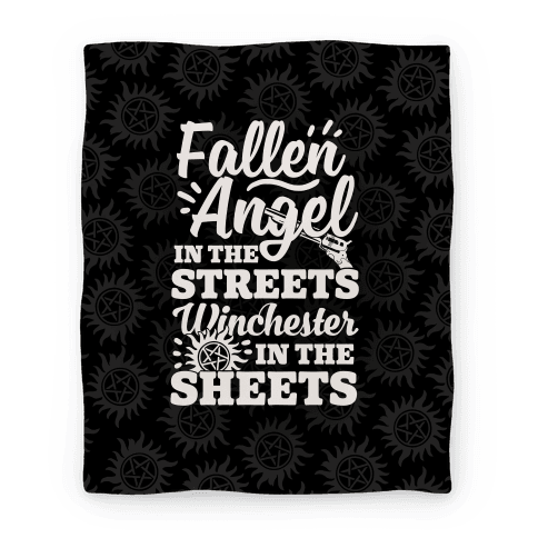 Fallen Angel In The Streets Winchester In The Streets Blanket