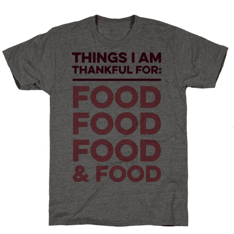 Things I Am Thankful For: Food