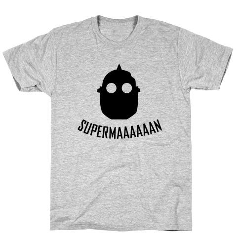 Iron Giant Superman T-Shirt