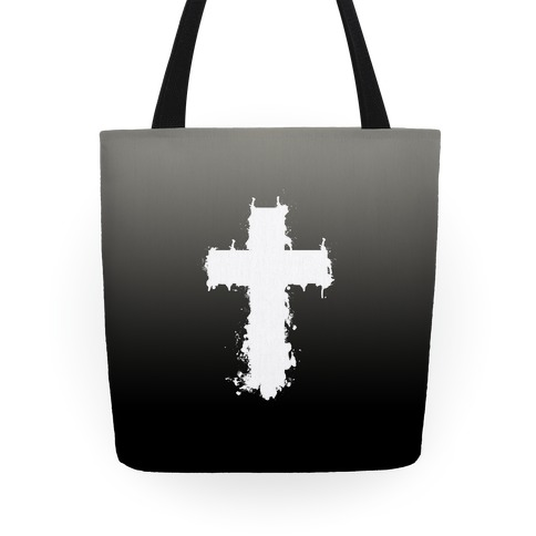 SPLATTER CROSS Tote