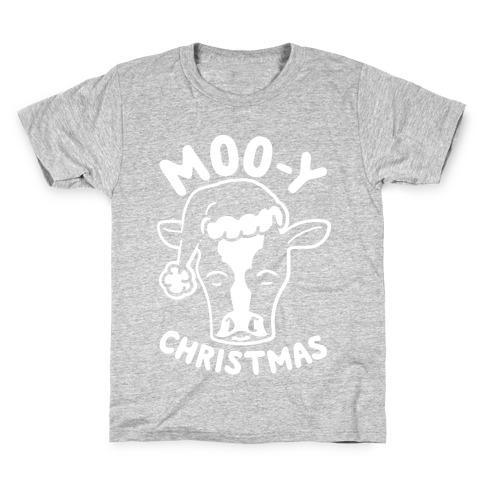 Moo-y Christmas Kids T-Shirt