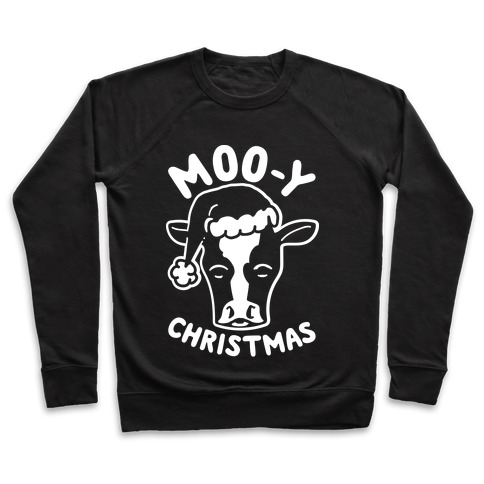 Moo-y Christmas  Pullover