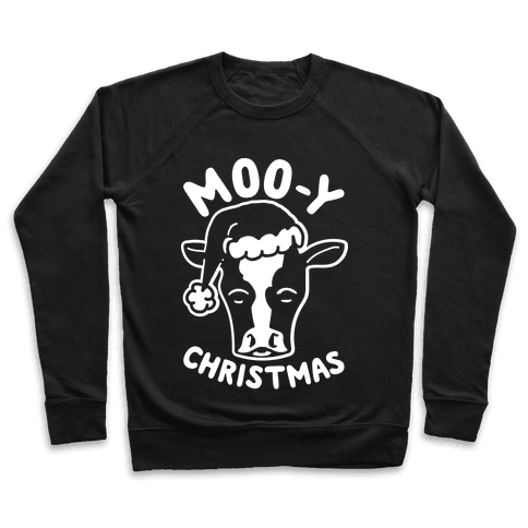 Moo-y Christmas  Pullover