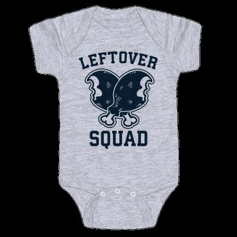 Leftover Squad Baby Onesy