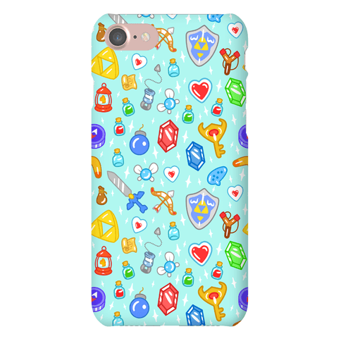 Zelda Items Phone Case