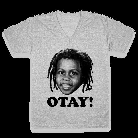 Otay! V-Neck Tee Shirt