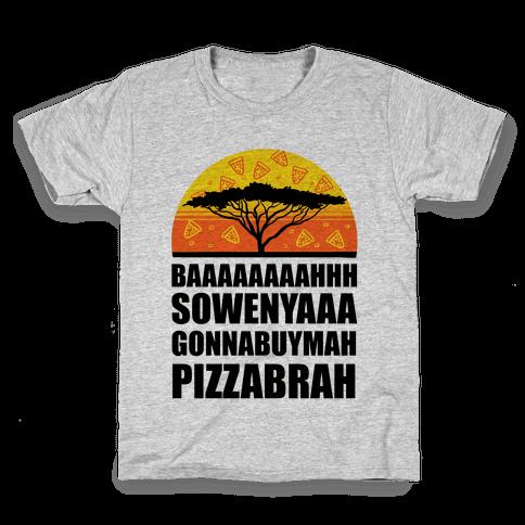 Gonna Buy Mah Pizza Brah Kids T-Shirt