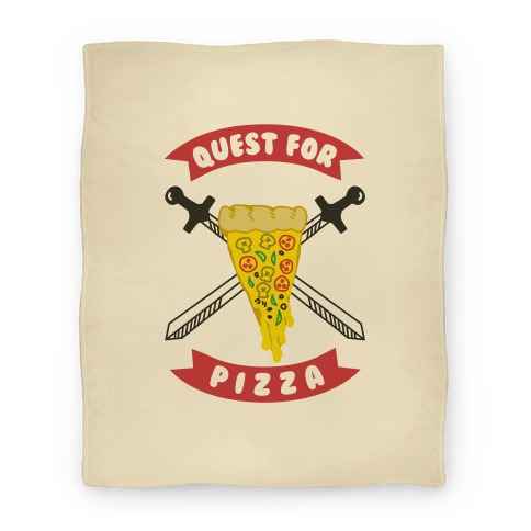 Quest for Pizza Blanket