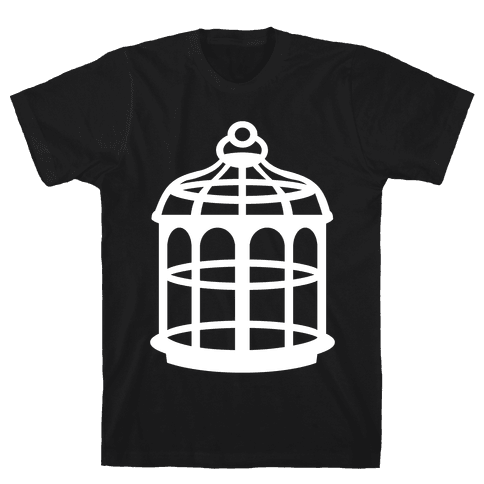 The Cage Mens T-Shirt