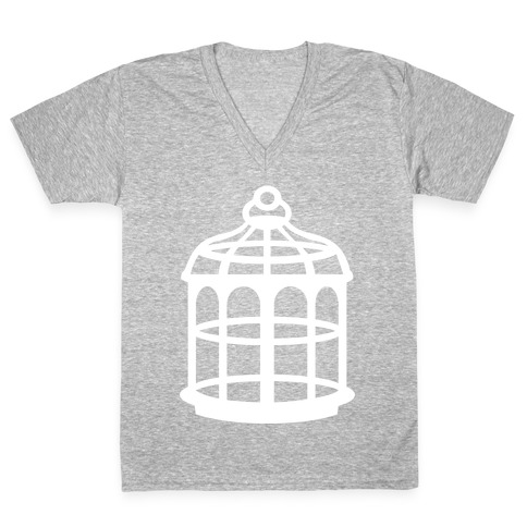 The Cage V-Neck Tee Shirt